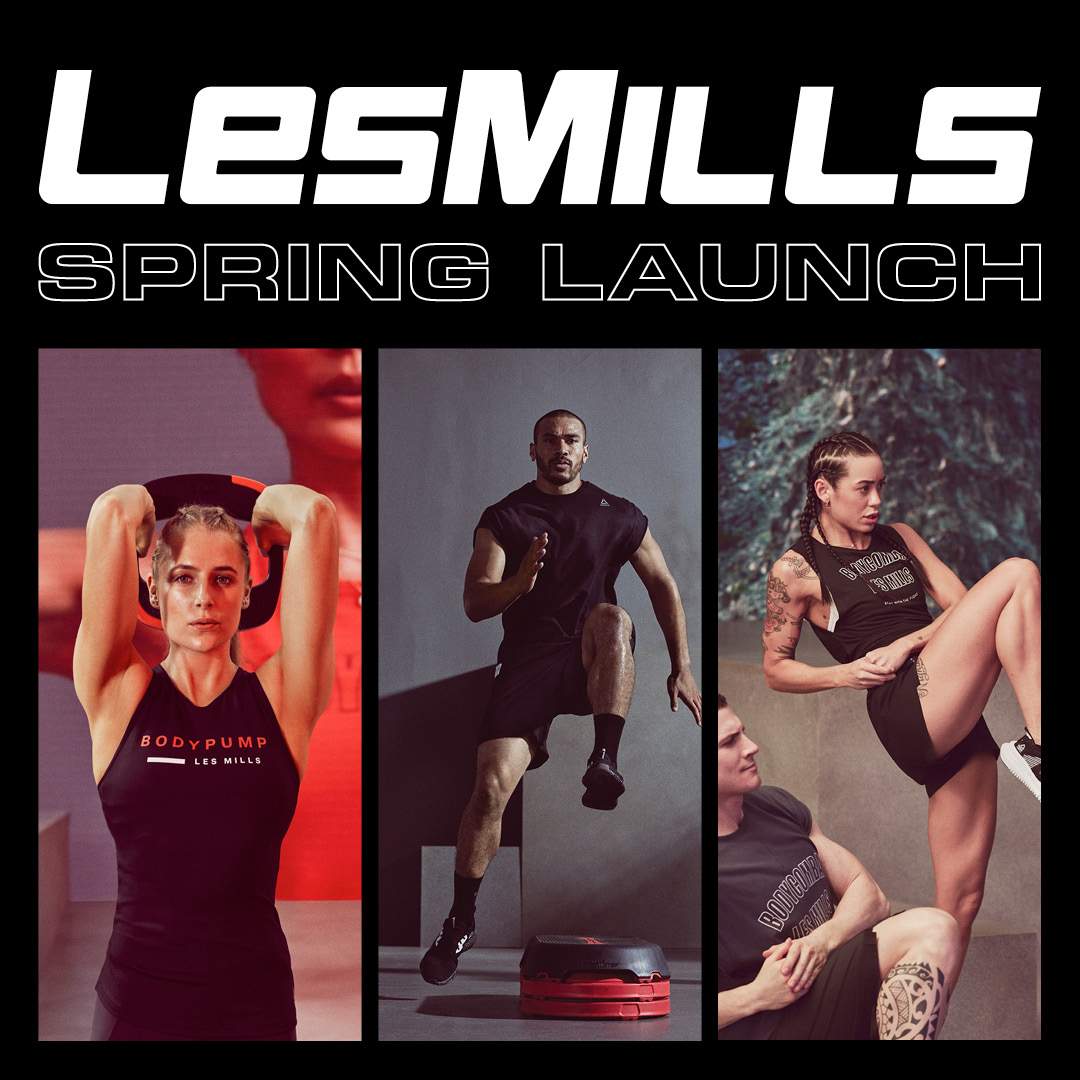 Les Mills Spring Launch