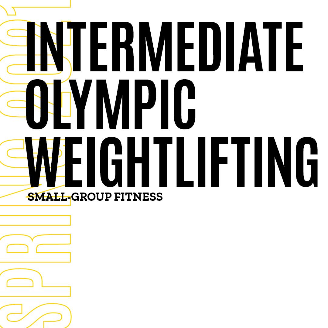Intermediate Olympic Weightlifting