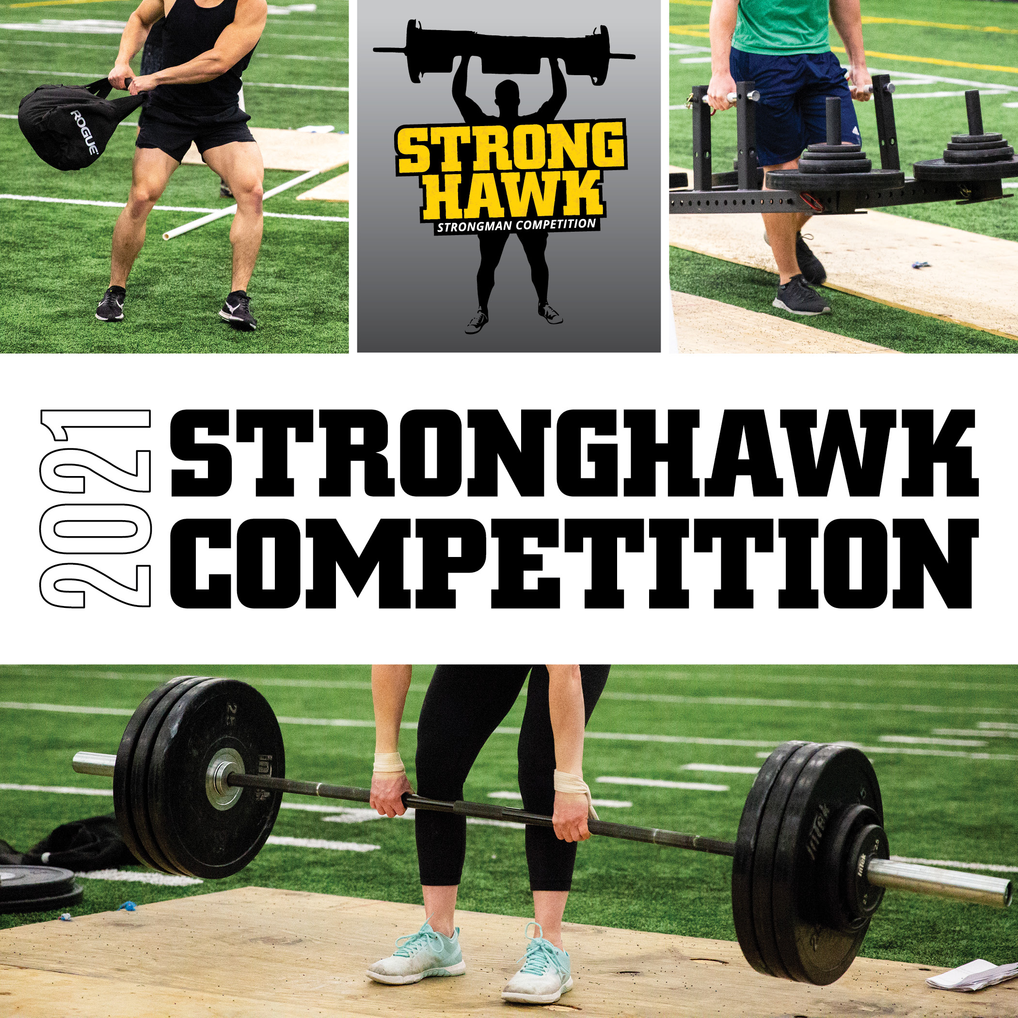 StrongHawk wordmark. StrongHawk Competition.