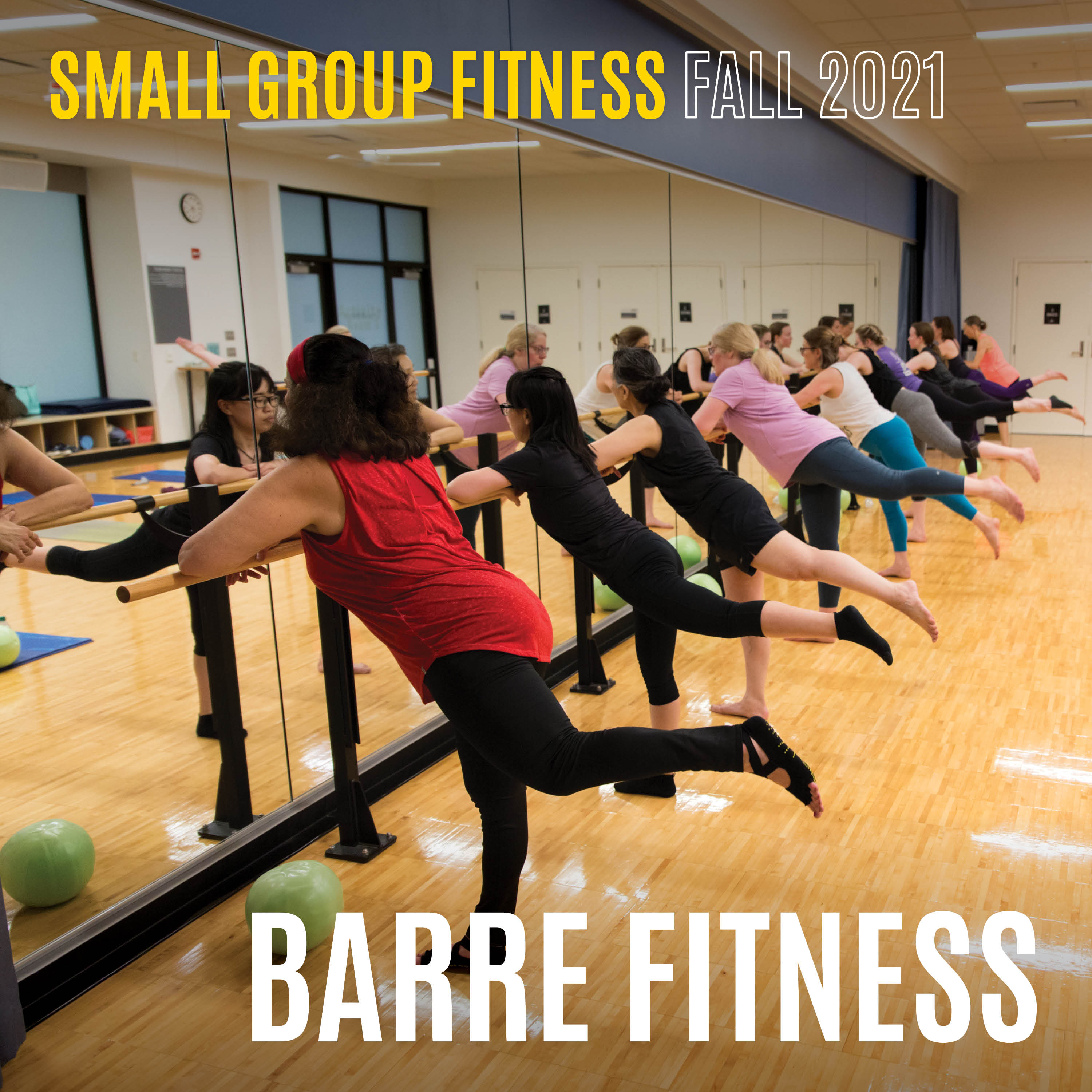 Small group training Fall 2021 Barre Fitness