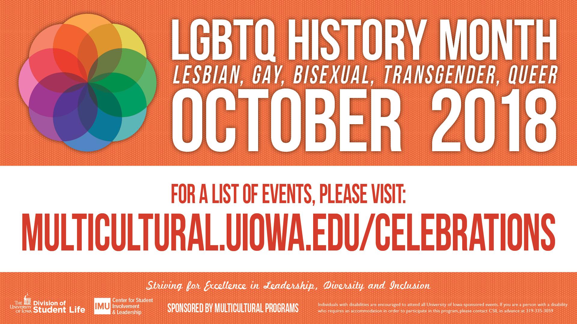 LGBTQ History Month