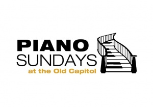 Piano Sundays at the Old Capitol series graphic