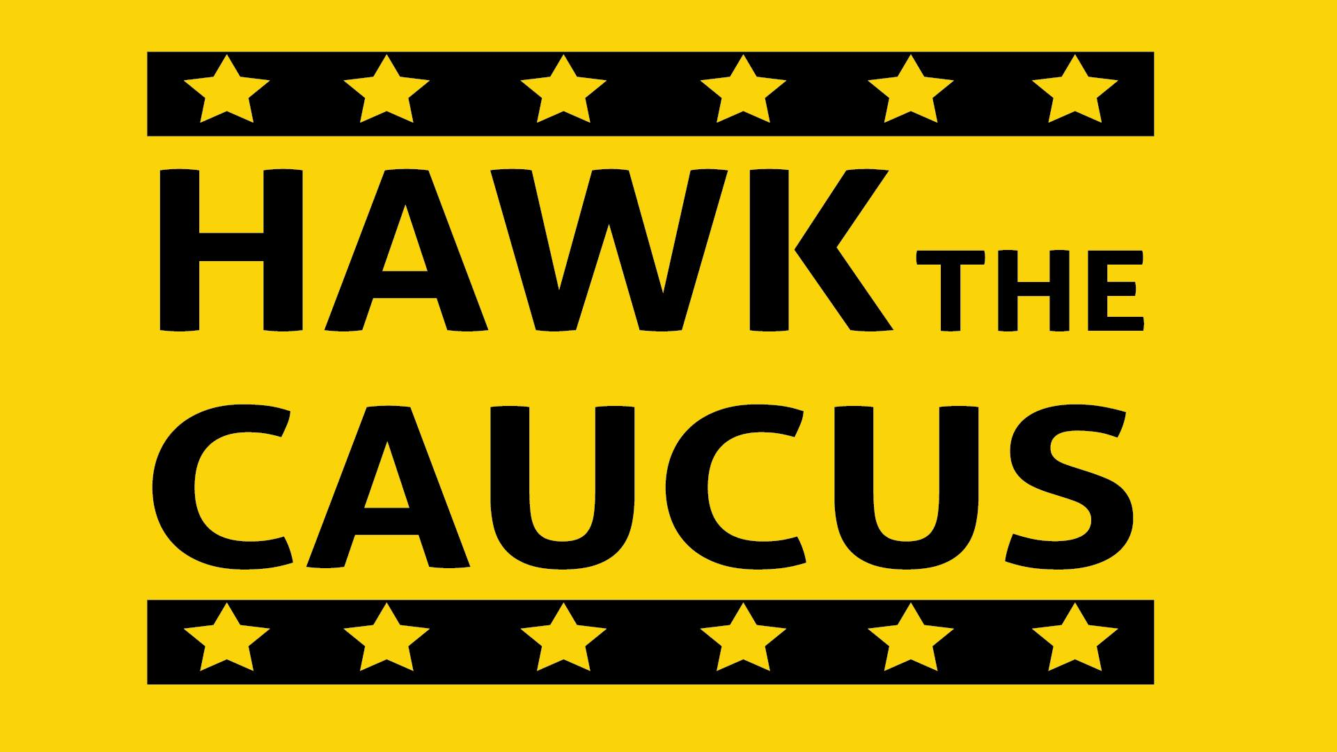 Hawk The Caucus Logo