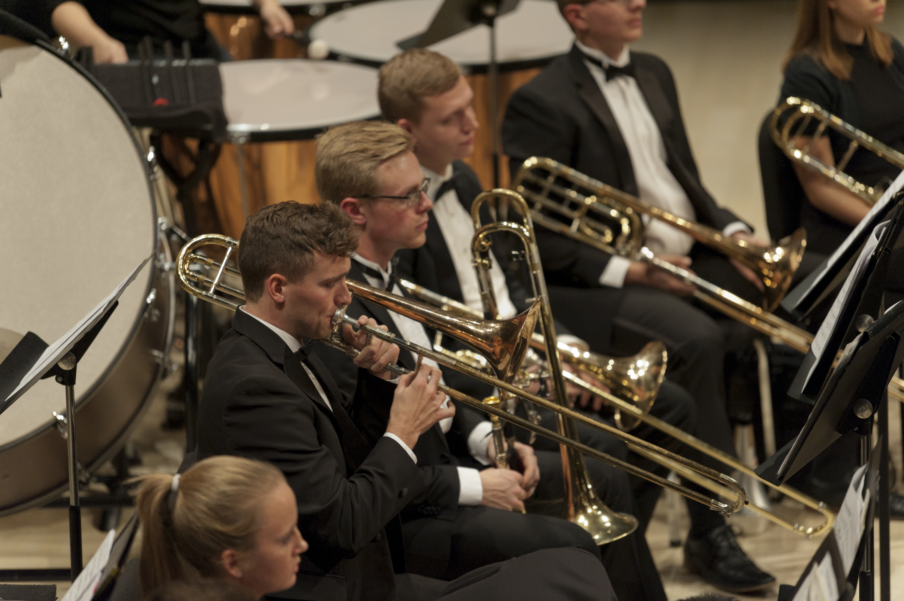 UI Symphony Band performs in the Concert Hall