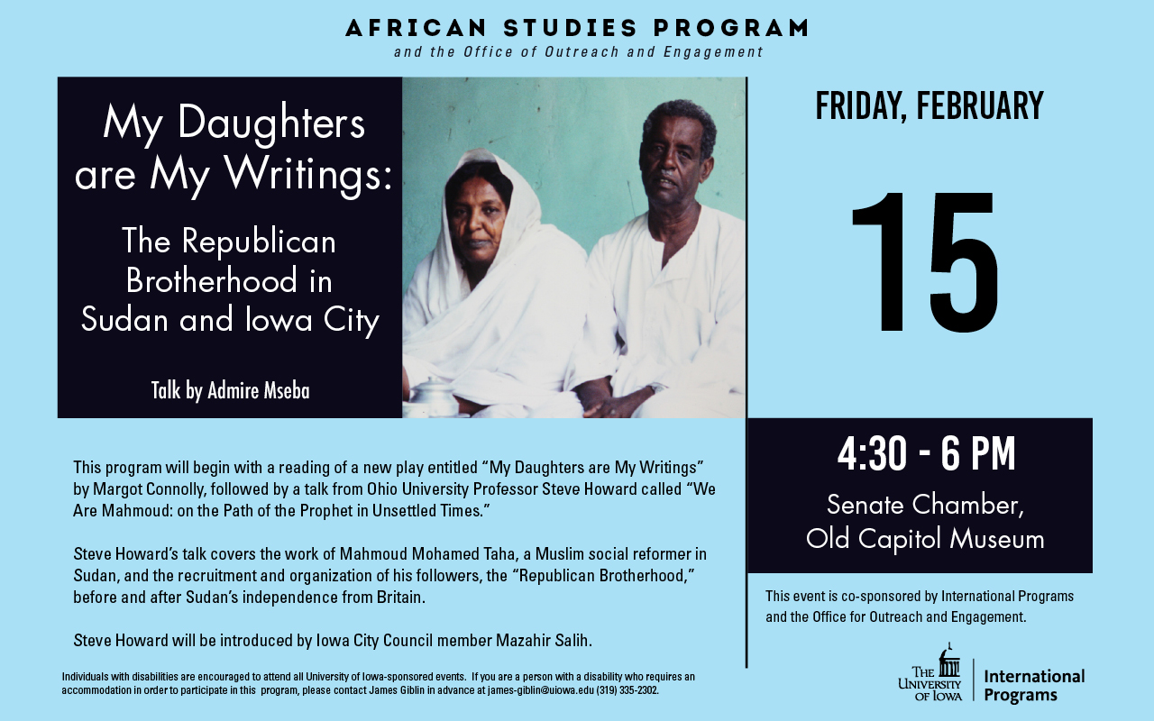 African Studies Program Feb 15