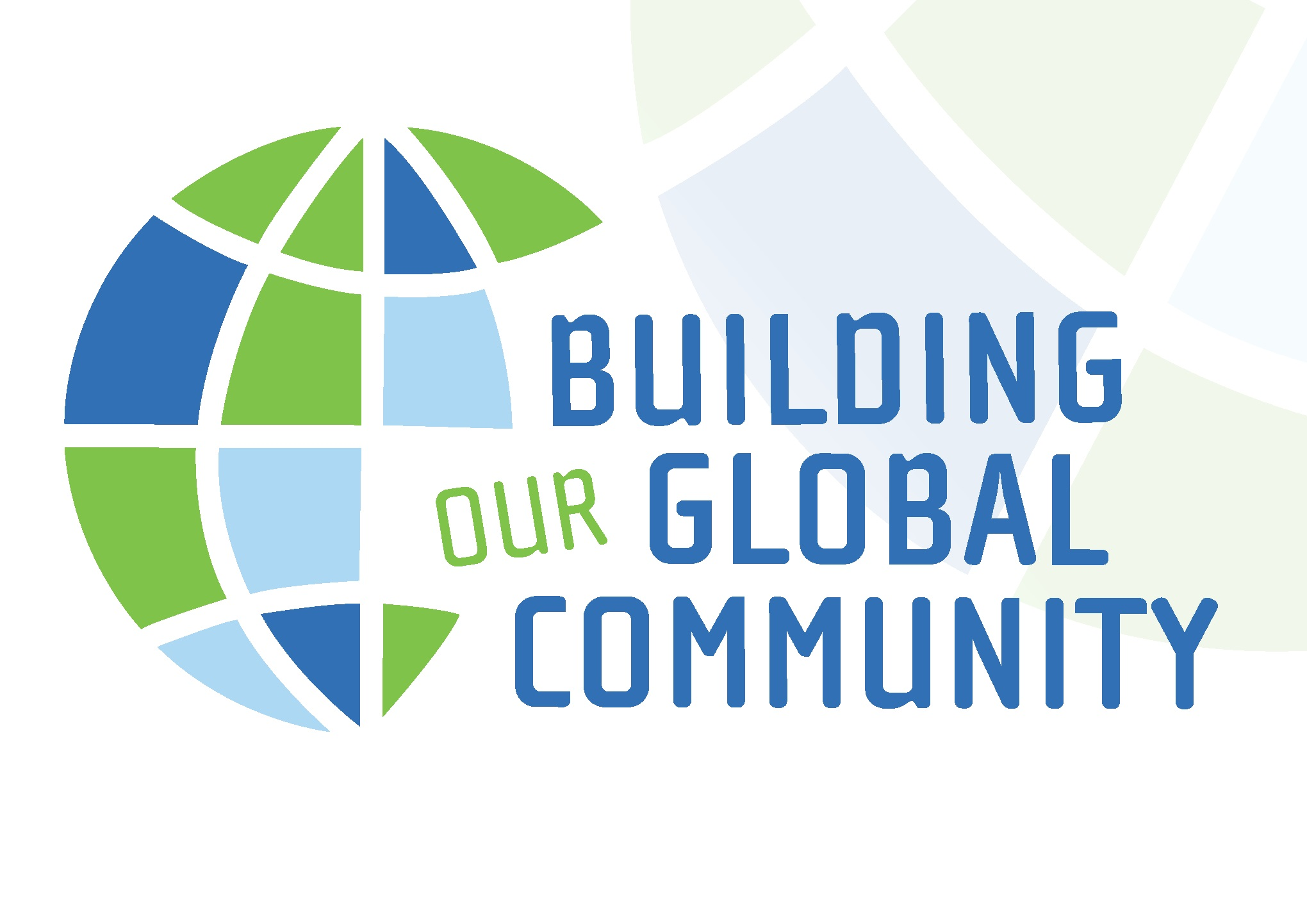 Building Our Global Community Logo