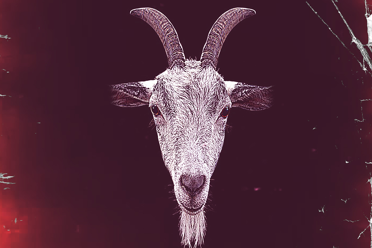 Blackberry: A Burial poster image. Goat head.