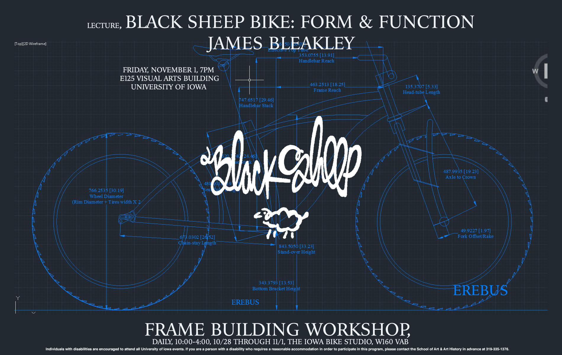 Black Sheep Bike: From & Function James Bleakley Lecture