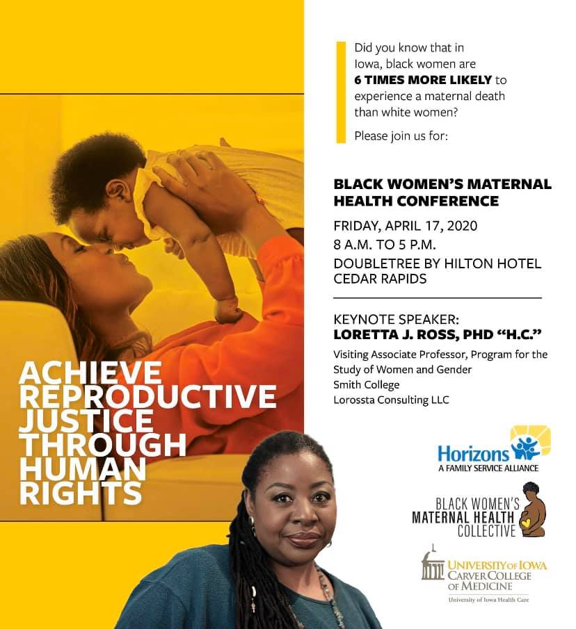 Black Women's Maternal Health Conference