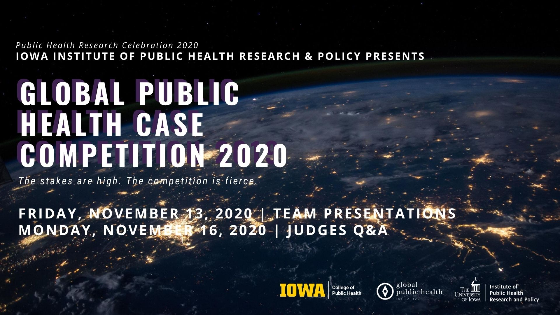 IIPHRP Global Health Case Competition | Live Judging Q&A promotional image