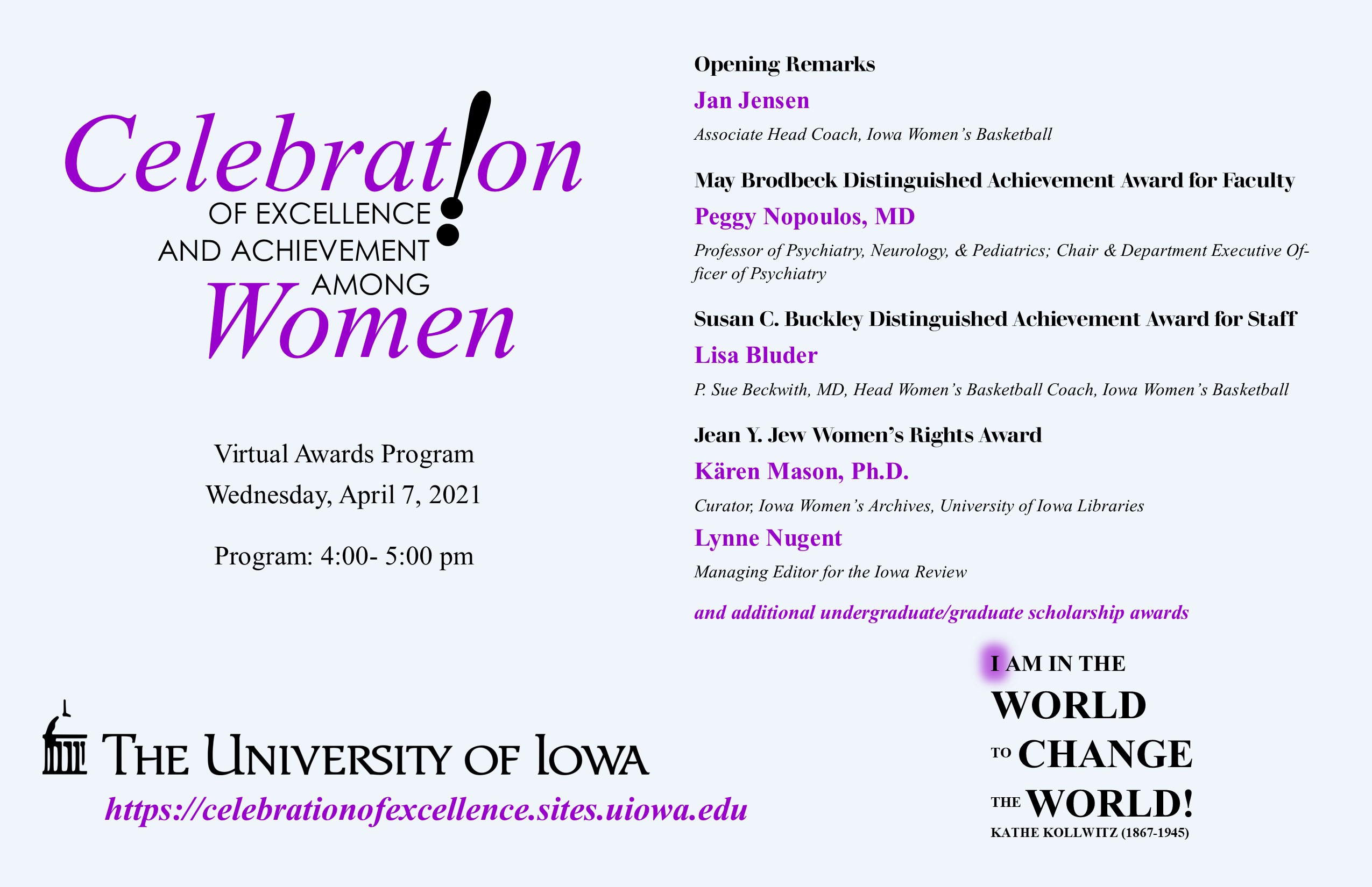 Annual Celebration of Excellence and Achievement Among Women Celebration (CEAAW)