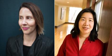 Frances De Pontes Peebles and Lan Samantha Chang