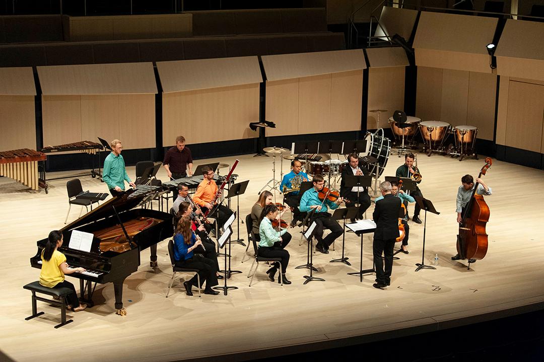 Center for New Music ensemble