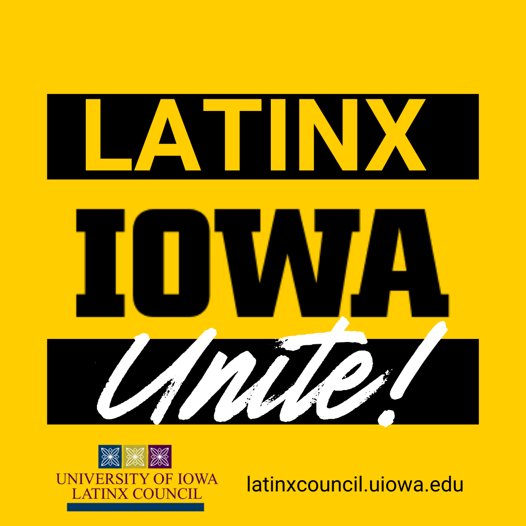 latinx Iowa Unite graphic
