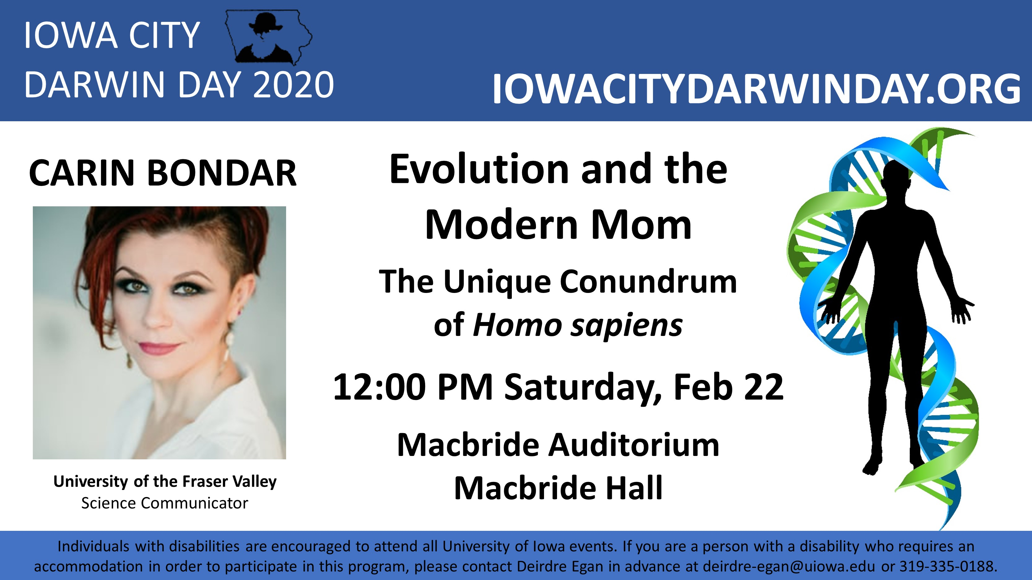 Carin Bondar: Evolution and the Modern Mom