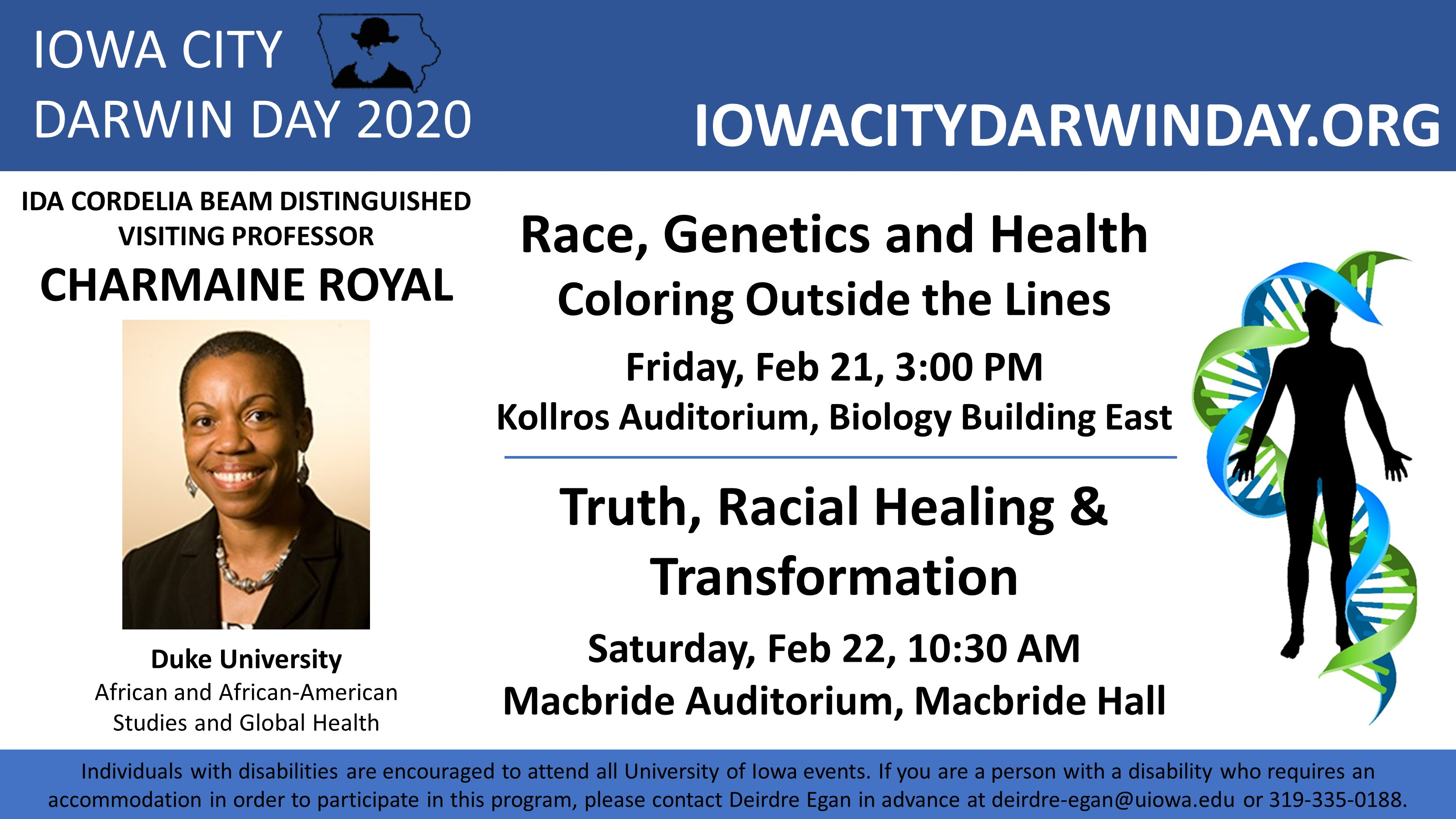 Charmaine Royal - Race, Genetics and Health: Coloring Outside the Lines promotional image