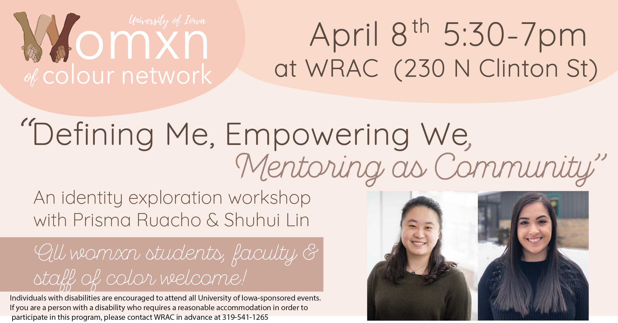 WOCN: Defining Me, Empowering We, Mentoring as Community!