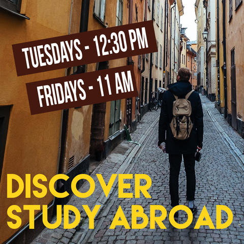 Discover Study Abroad Spring 2020 sessions