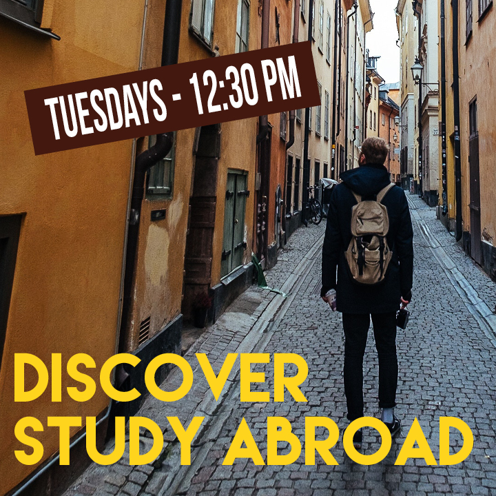 Discover Study Abroad Summer 2020 sessions