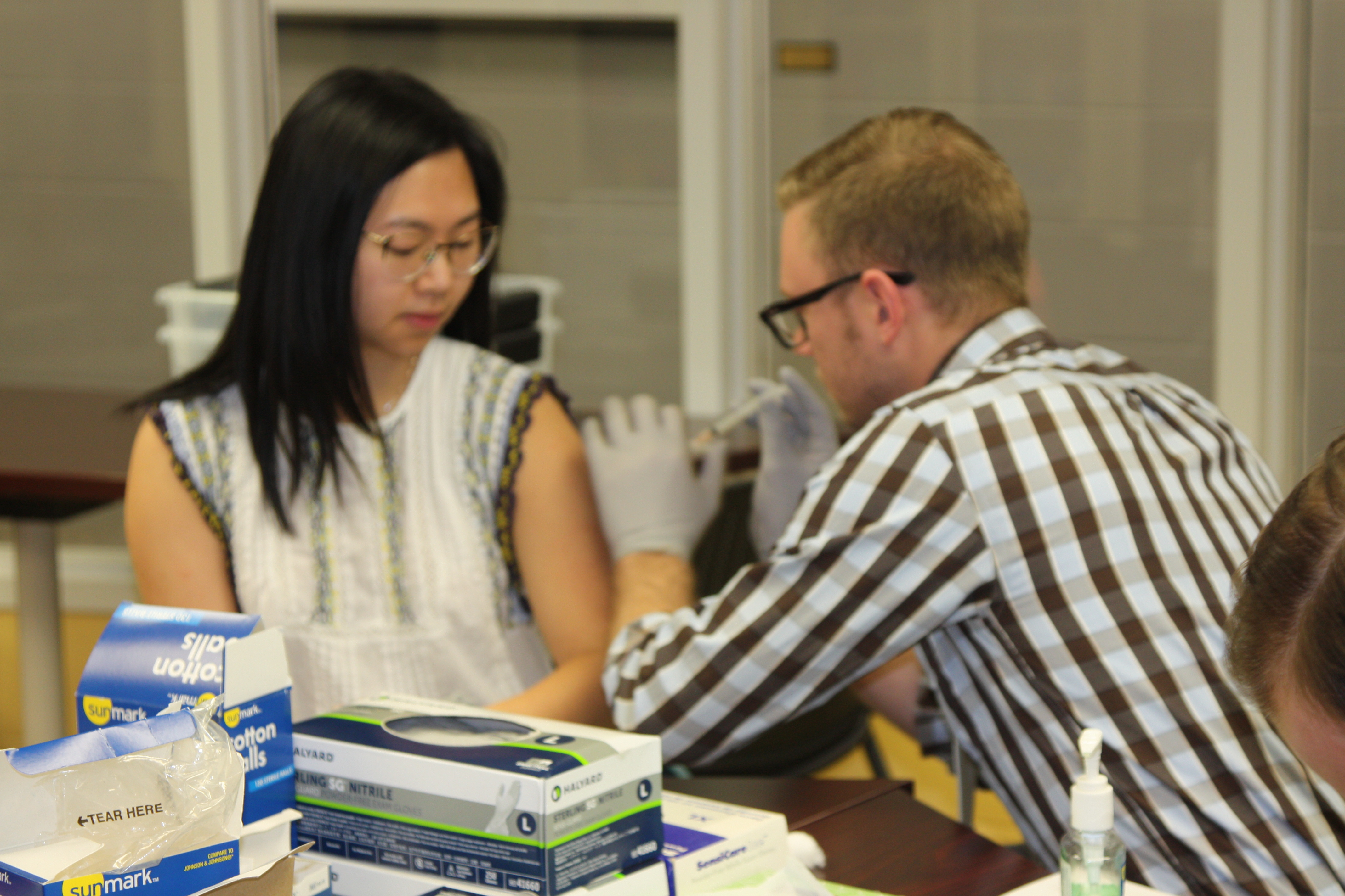 SNPhA Immunization Clinic at College of Medicine promotional image