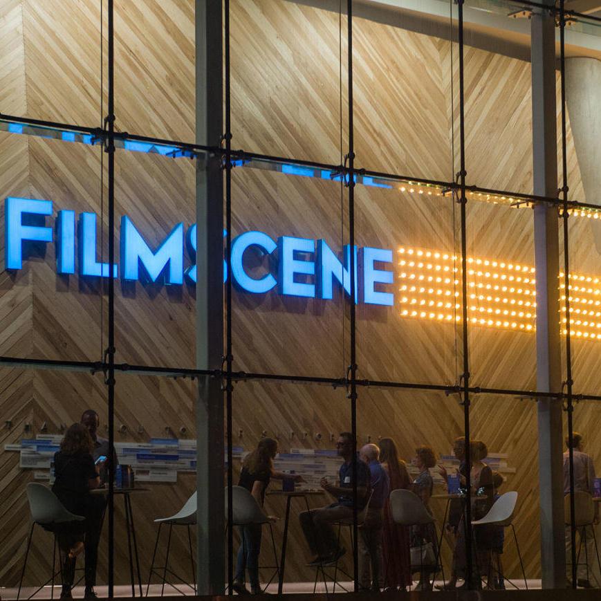 Lit Walk at Filmscene
