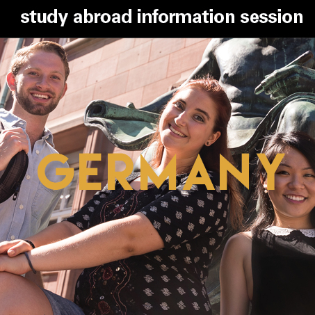 Study Abroad Information Session Poster
