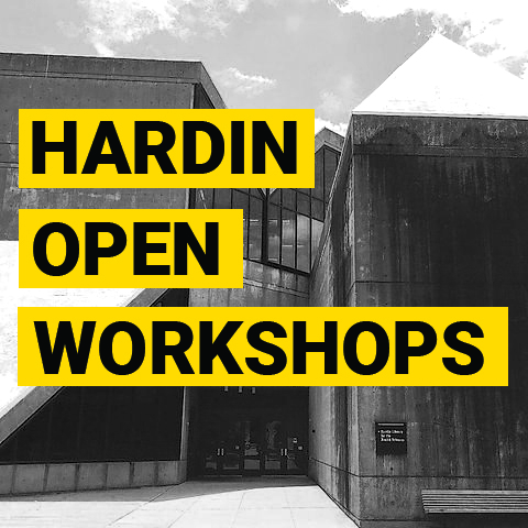 Hardin Open Workshops - Images in the Health Sciences ZOOM promotional image