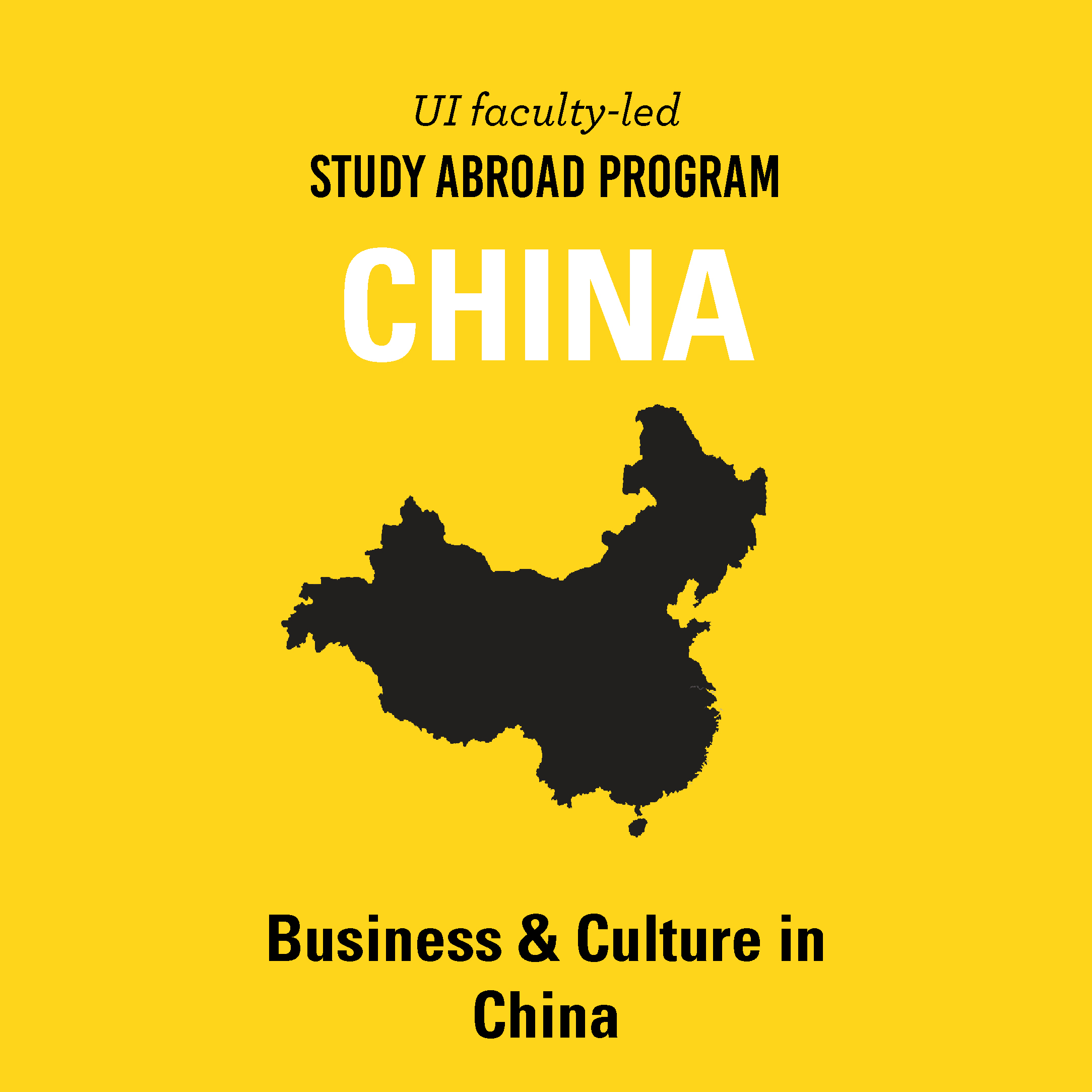 Study Abroad Information Session on December 6 and February 14 about the Business and Culture in China program