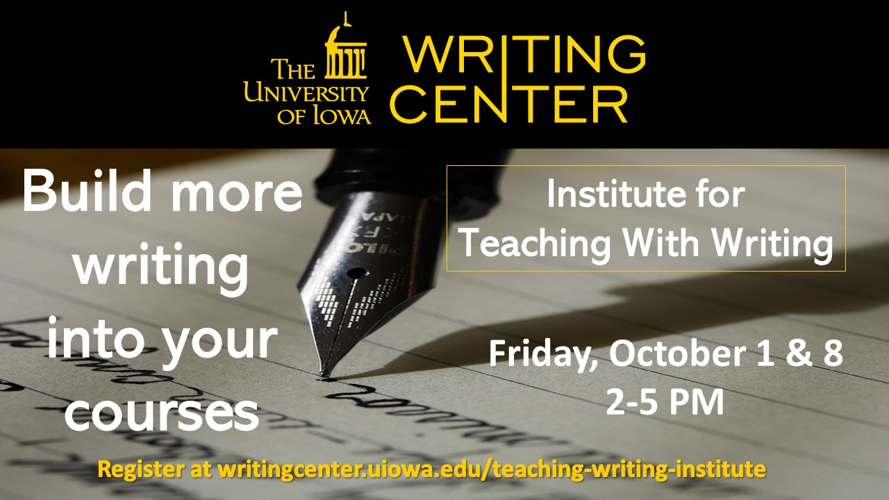 Institute for Teaching with Writing