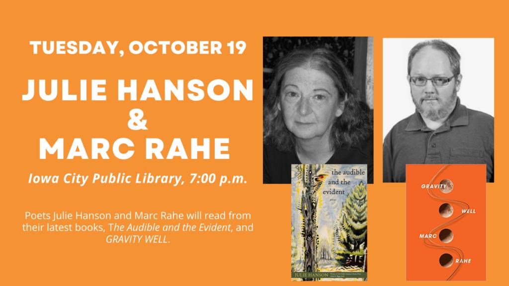 Julie Hanson and Marc Rahe