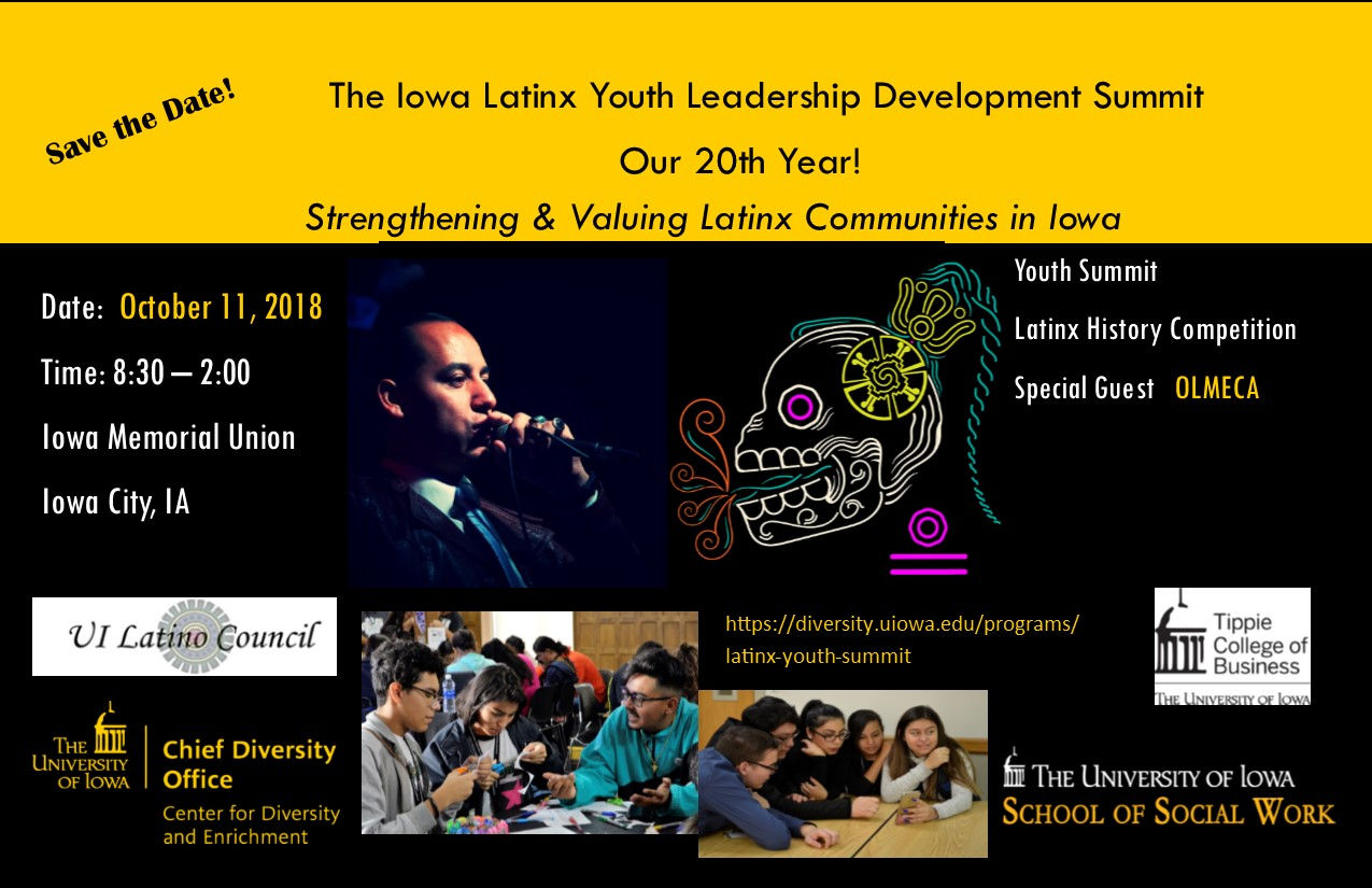 latinx youth summit promo image