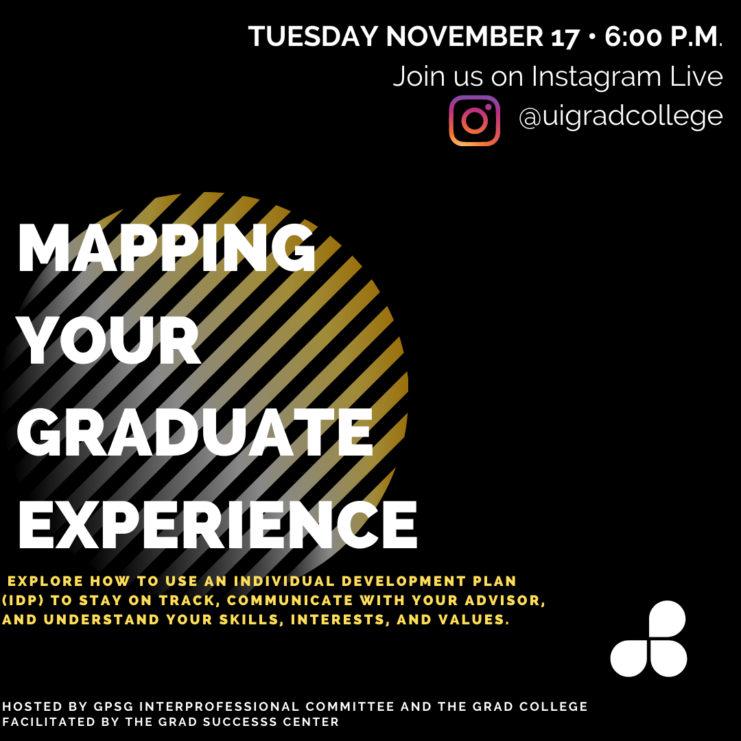 Mapping Your Graduate Experience promotional image