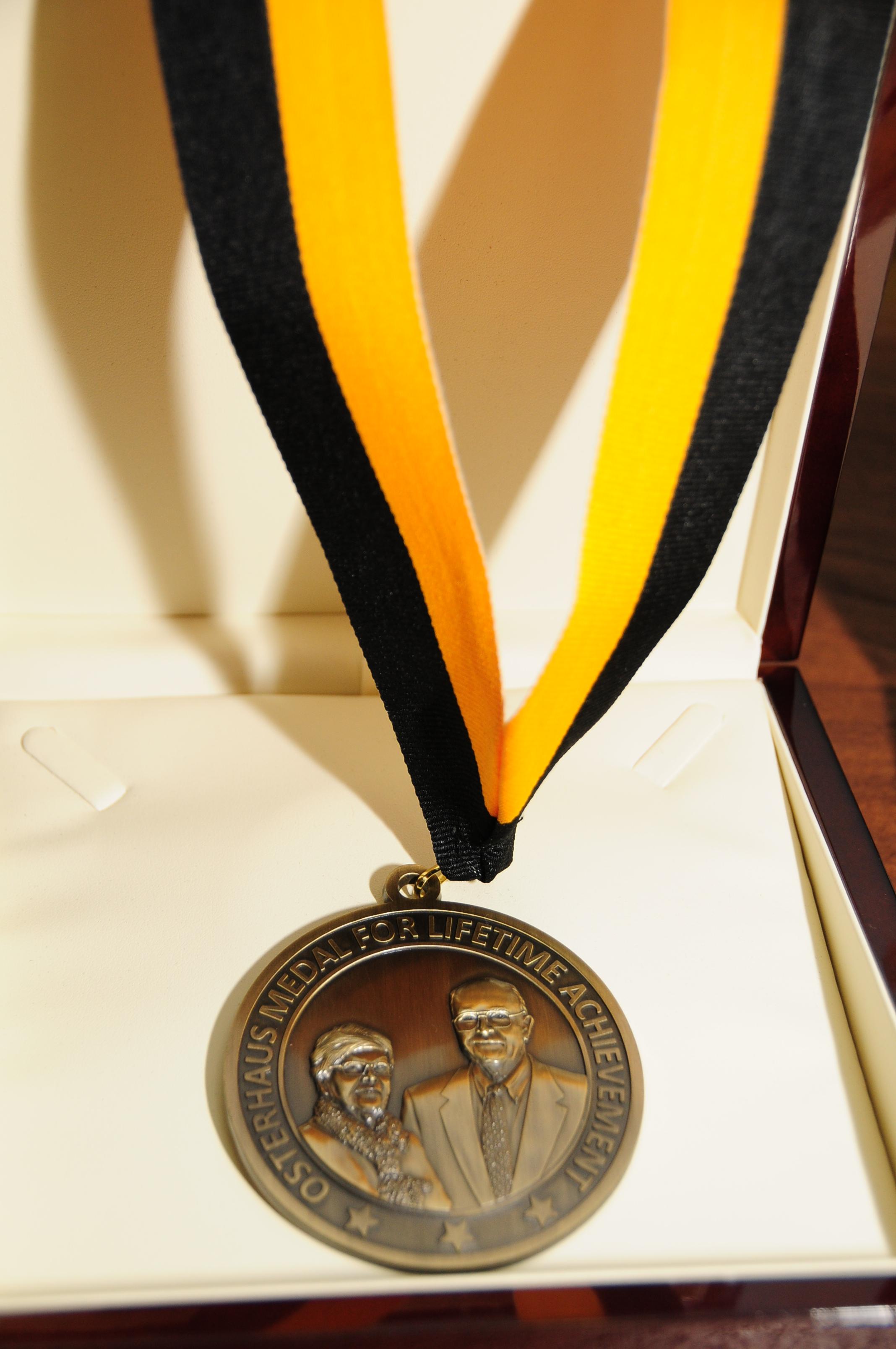 Osterhaus Medal for Lifetime Achievement 2018