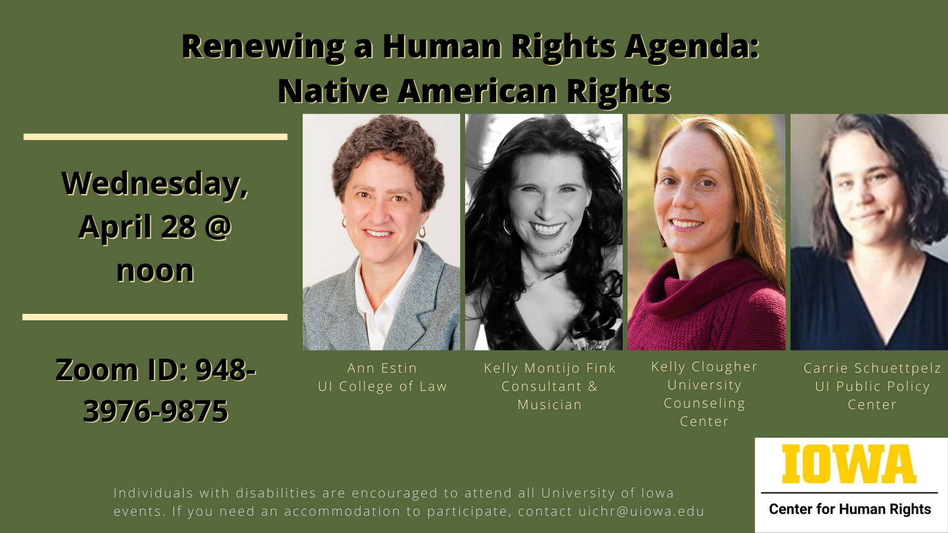 Renewing a Human Rights Agenda: Native American Rights