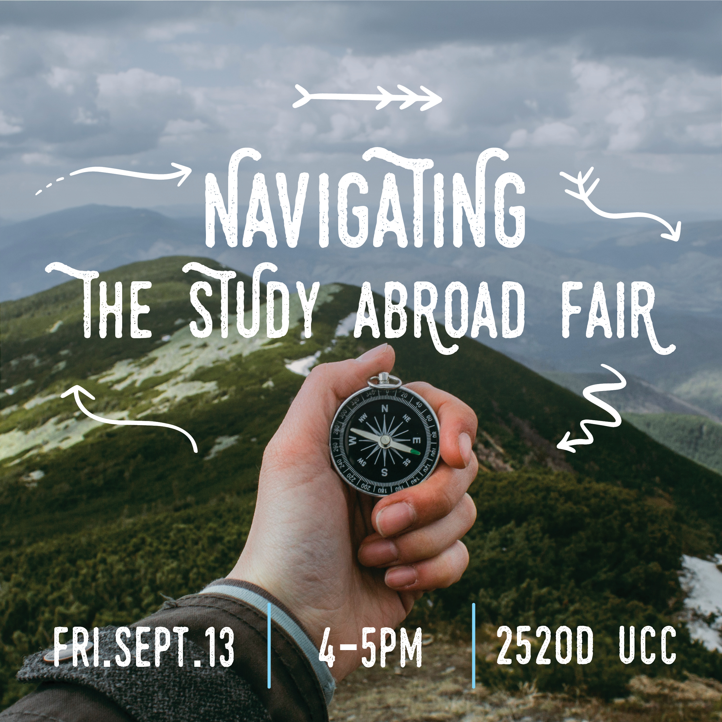 Navigating the study abroad fair on Sept 13 from 4-5pm
