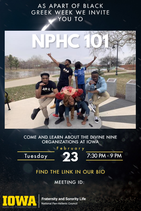 NPHC 101 - Black Greek Week