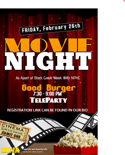 Movie Night - Black Greek Week
