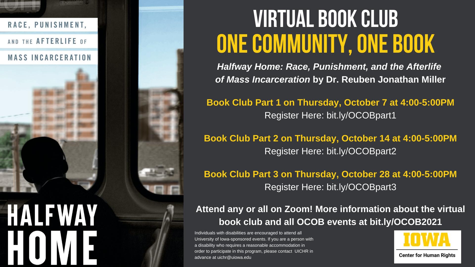 book club information
