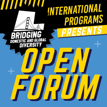 Bridging Domestic and Gloal Diversity Open Forum