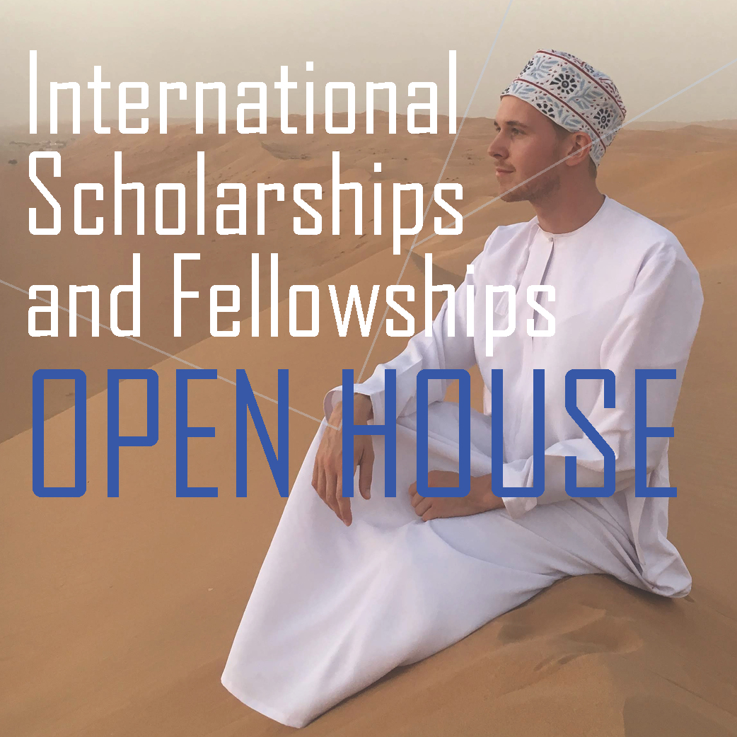 International scholarship and fellowship open house to be held Sept 21