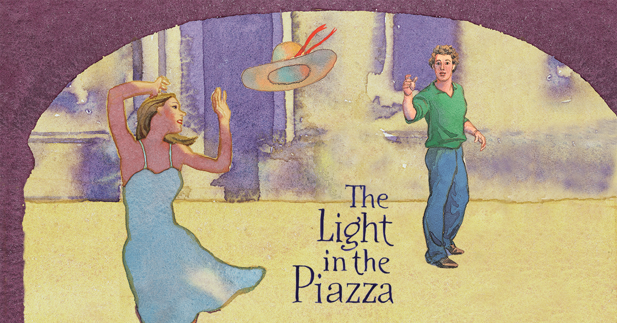 Light in the Piazza art