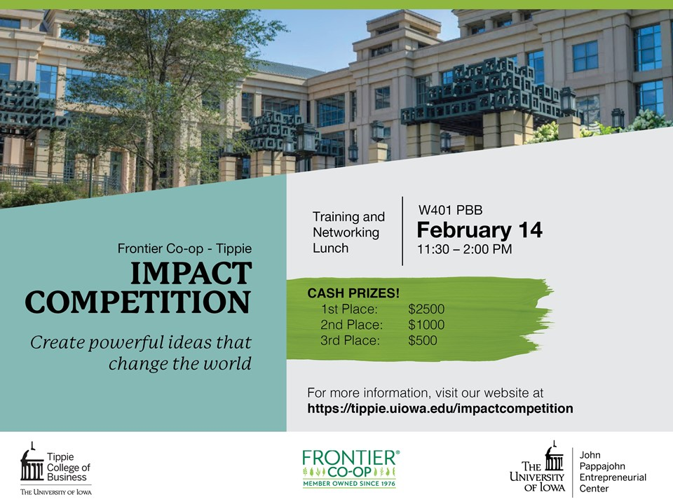 Frontier Co-Op Tippie Impact Competition