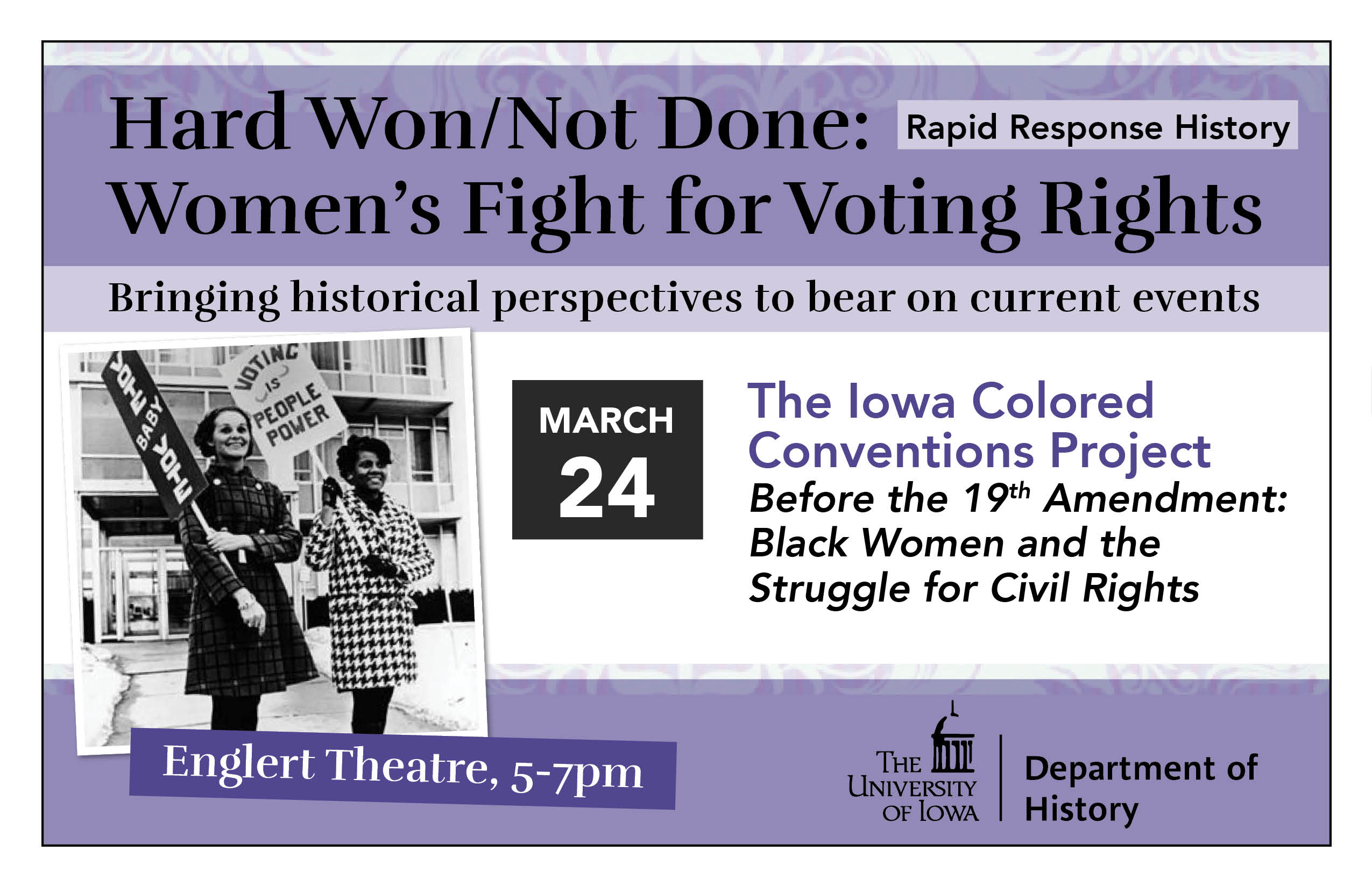 Before the 19th Amendment: Black Women and the Struggle for Civil Rights
