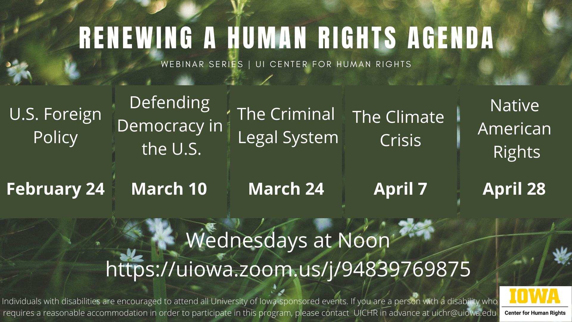 Renewing a Human Rights Agenda: The Climate Crisis