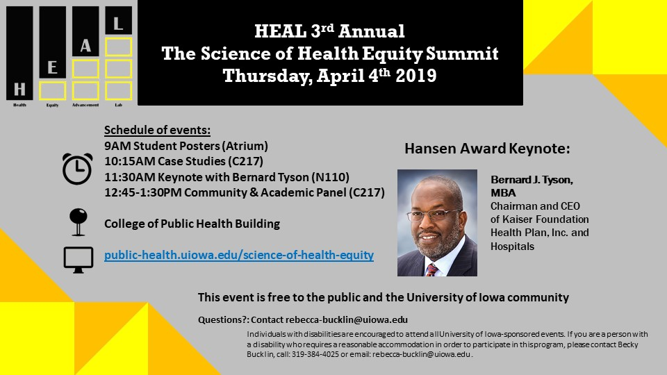 HEAL 3rd Annual Science of Health Equity Summit