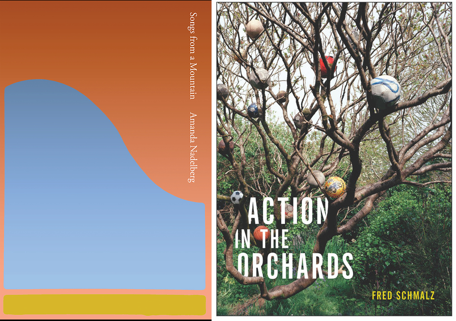 Songs from a Mountain and Action in the Orchards book covers