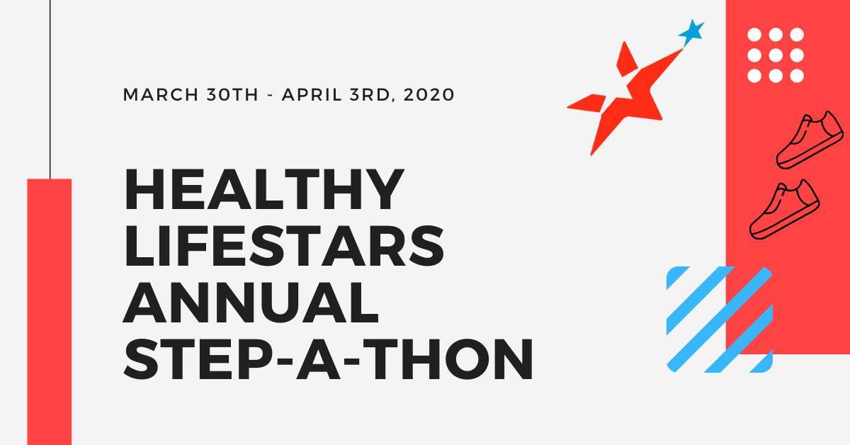 Healthy Lifestars Annual Step-a-Thon event