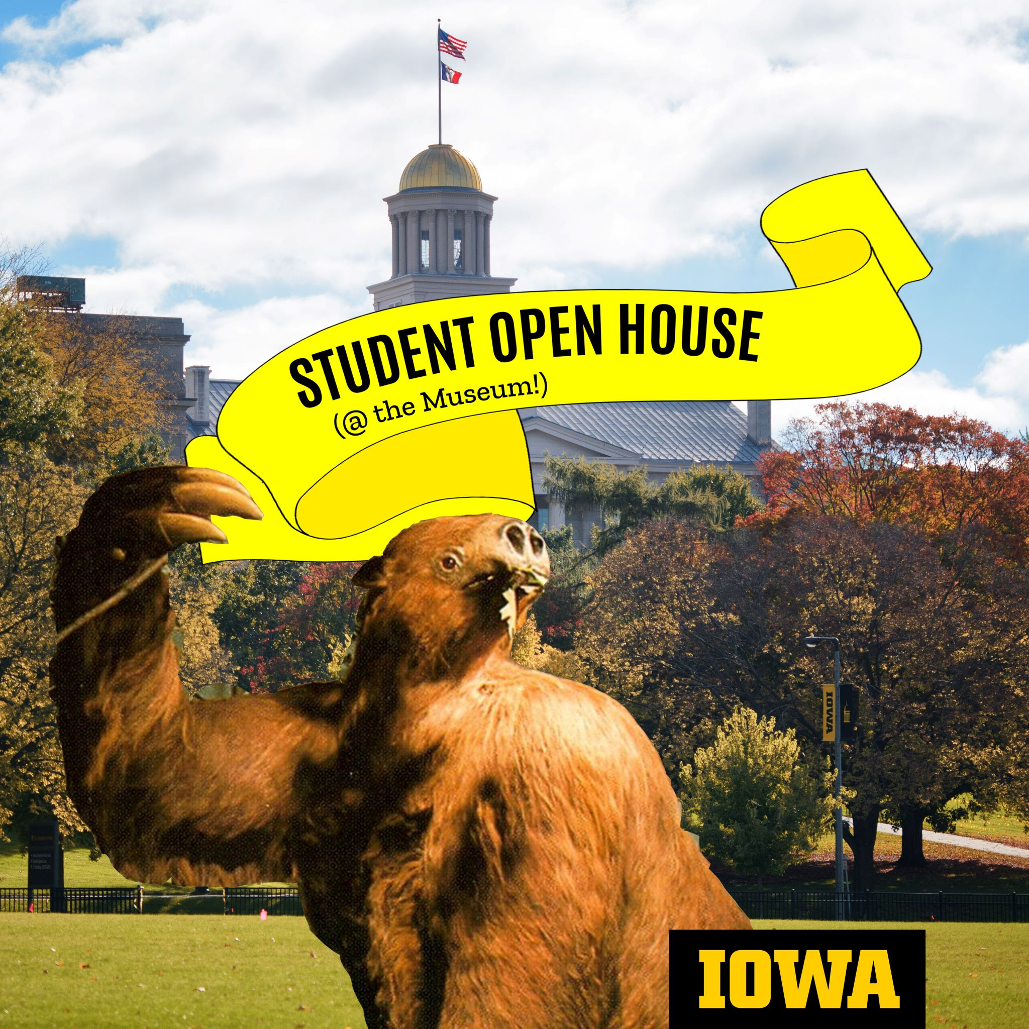 Student Open House (@ the Museum!)