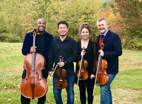Apple Hill String Quartet - Elise Kuder and Jesse MacDonald, violins