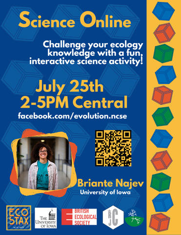 Eco Stax educational activity event for all ages, virtual programming